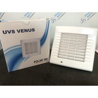 Бытовой вентилятор  UVS VENUS POLAR 100 (АВТОМАТИЧЕСКОЙ ЖАЛЮЗИ)