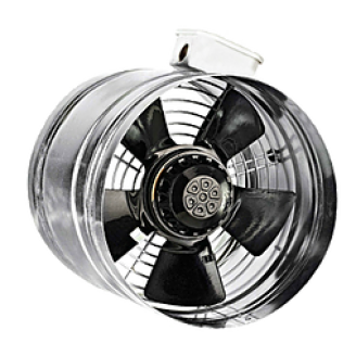 BORAX осевой вентилятор канального типа (680-3110m3)
